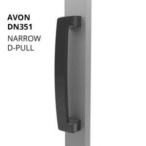 DN351 Narrow Style D Pull Handle
